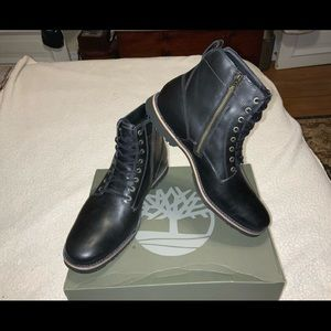 NWT TIMBERLANDS KENDRICK men's side zipper boot.11